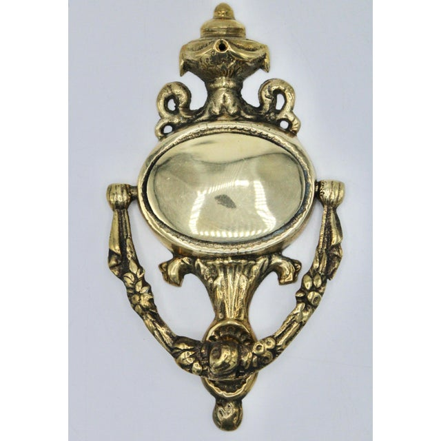 Art Nouveau French Brass Door Knocker For Sale - Image 11 of 11