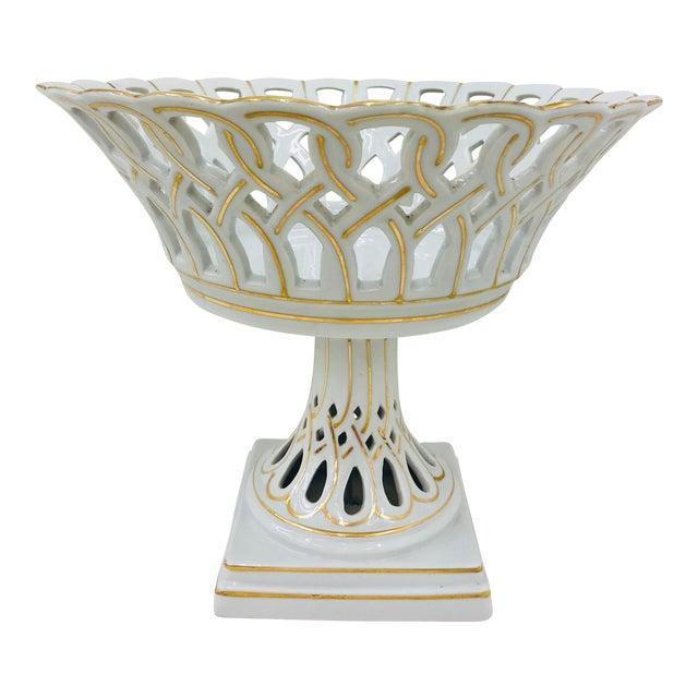 Vintage Porcelain Dish For Sale