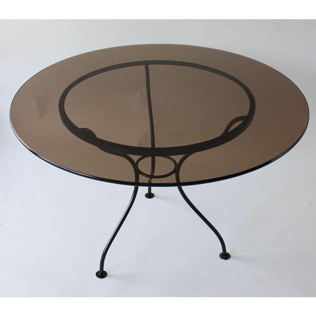 Mid-Century Modern Mid-Century Iron Tripod Table For Sale - Image 3 of 8
