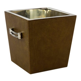 Modern Albany Leather Wine Cooler