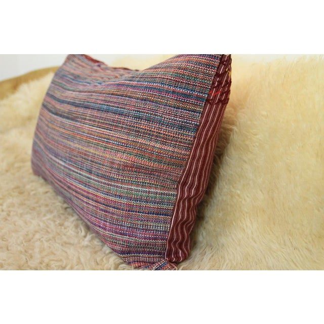 """The Jimmy"" Guatemalan Pillow - Image 3 of 5"