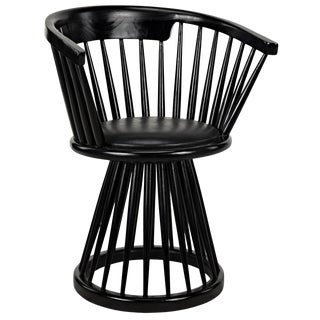 Lauda Chair, Charcoal Black For Sale