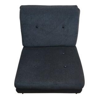 Bernhardt Grey Lance Chair For Sale