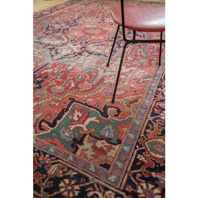 "Distressed Ahar Heriz Carpet - 8'2"" X 11'9"" - Image 7 of 10"