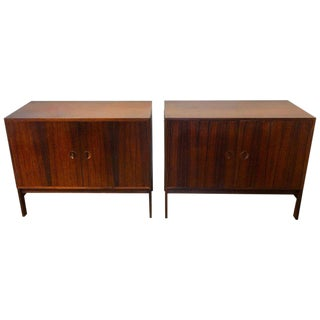 Diminutive Rosewood Credenza by Ib Kofod-Larsen for Faarup Møbelfabrik For Sale