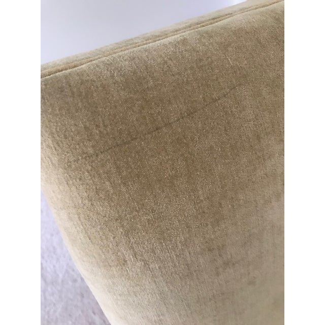 Modern Mitchell Gold + Bob Williams Slipper Armless Accent Chair For Sale In Columbus - Image 6 of 7