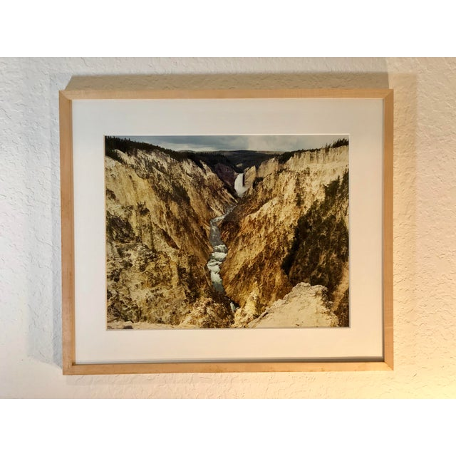 1980s Vintage Original Waterfall Photograph by Willy Skigen For Sale - Image 13 of 13