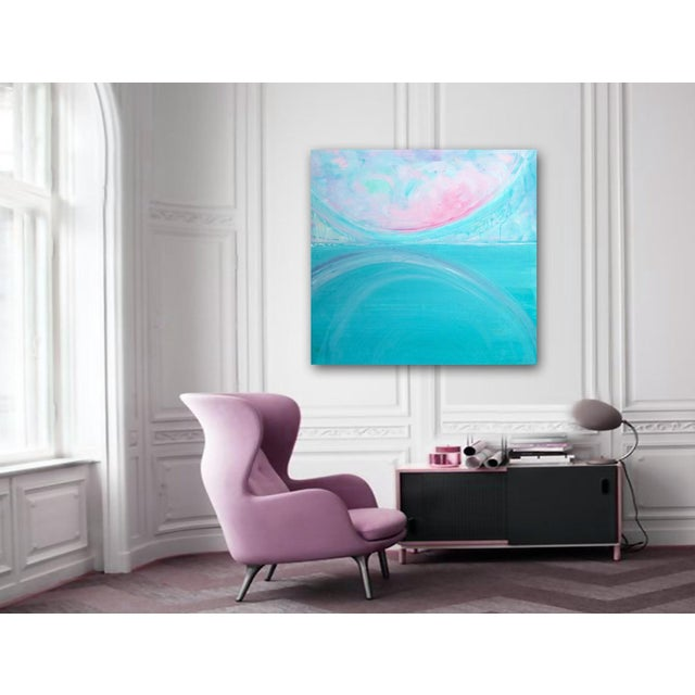 'AFTERLiFE' Original Abstract Painting by Linnea Heide - Image 3 of 5