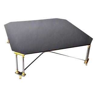 1960s Hollywood Regency Maison Jansen Style Low Table For Sale