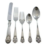 Image of Georgian by Towle Sterling Silver Flatware Set Service 30 Pieces Vintage For Sale