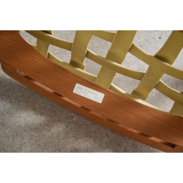 Vintage Mid Century Danish Modern Frank Reenskaug for Bramin Teak Wood Rocker Rocking Chair, 1960s For Sale - Image 10 of 11