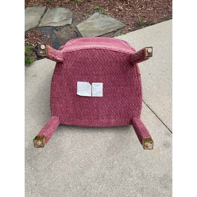 1980s J. Robert Scott Upholstered Dining Chair For Sale - Image 5 of 8