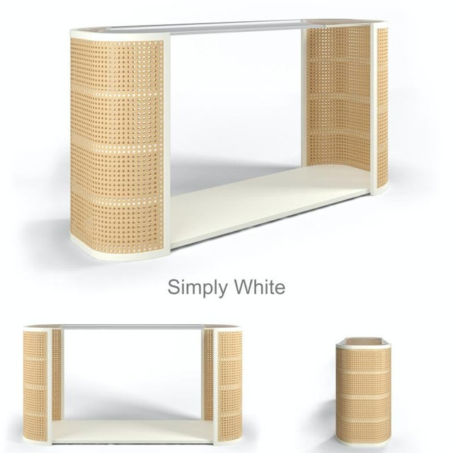 Not Yet Made - Made To Order Lola Console Table - Coral Gables For Sale - Image 5 of 6