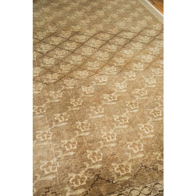 Islamic Vintage Oushak Carpet - 7′5″ × 10′8″ For Sale - Image 3 of 9
