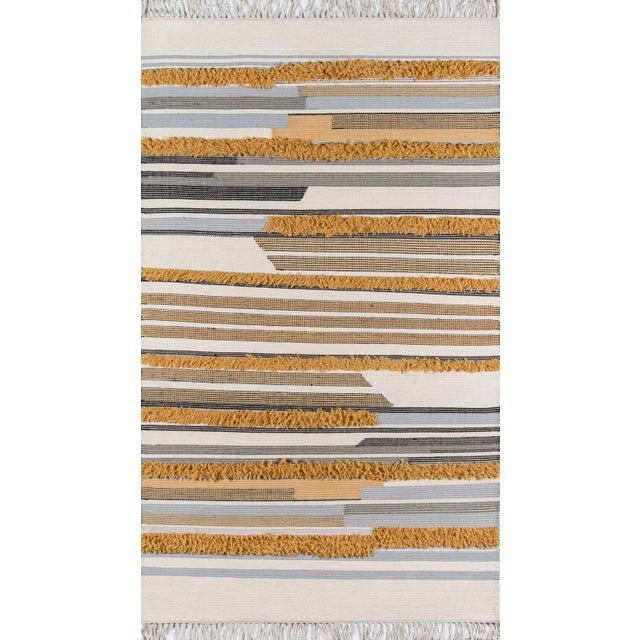 Southwestern-style influences within this handmade area rug collection makes interior floors instantly feel like home....
