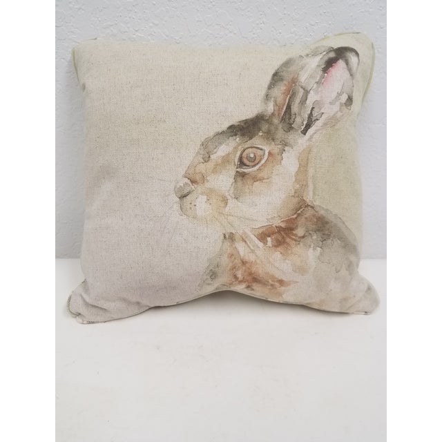 Rabbit Pillow - Made in Wales, United Kingdom For Sale - Image 10 of 10