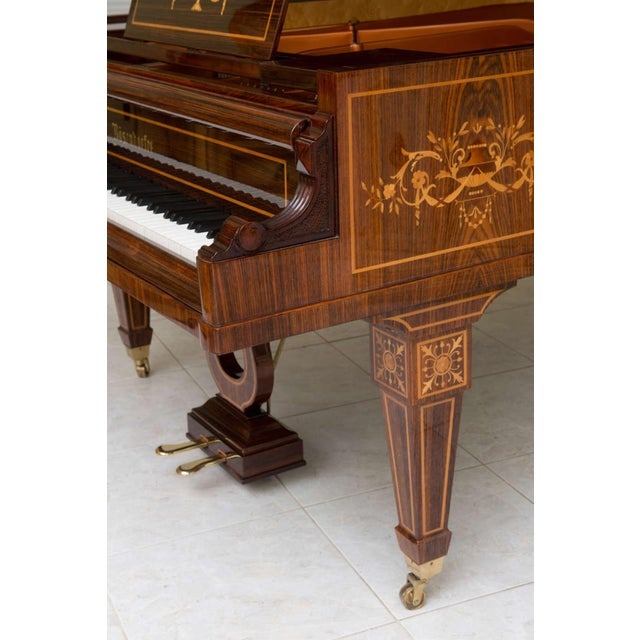 Rare and Historically Significant Marquetry Inlaid Grand Piano, Bösendorfer For Sale In Miami - Image 6 of 8