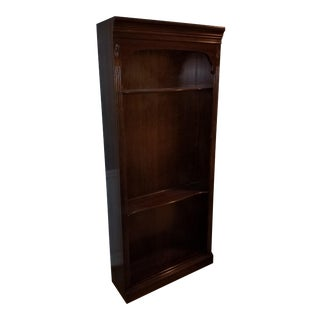 Matching Ethan Allen Cherrywood Georgian Court Bookcases