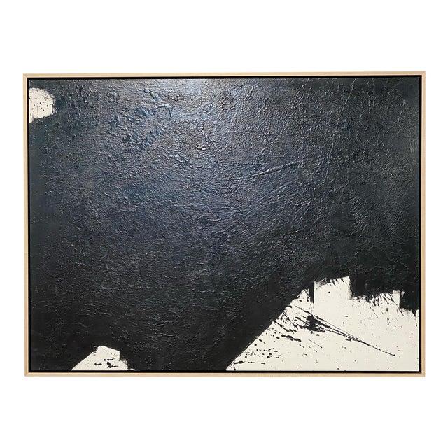 """Exclusive John O'Hara """"Tar, 14"""" Encaustic Painting For Sale"""