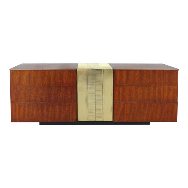 Mid-Century Modern Dresser By National Furniture Co. Of Mt