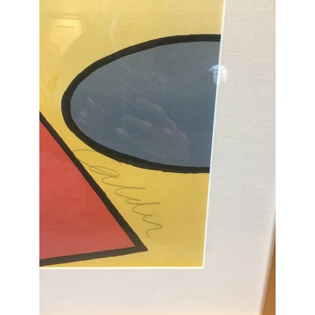 "Alexander Calder Alexander Calder ""La Piege"" (The Trap) Lithograph For Sale - Image 4 of 5"