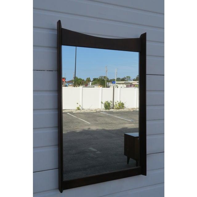Mid Century Modern Wall Dresser Bathroom Vanity Mirror For Sale - Image 10 of 11