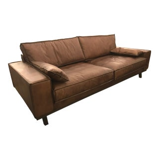 Leather Floating Sofa For Sale