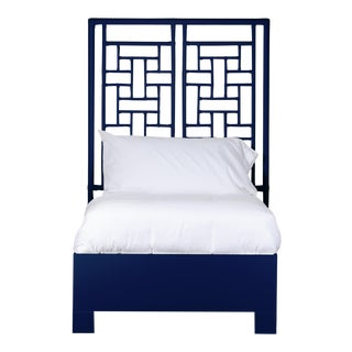 Ohana Bed Twin - Navy Blue For Sale