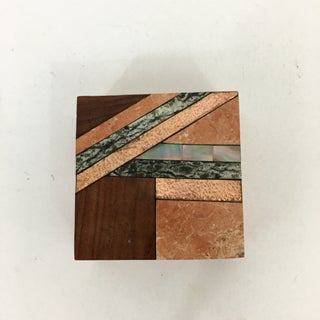 Tessellated Stone and Wood Inlay Box Preview