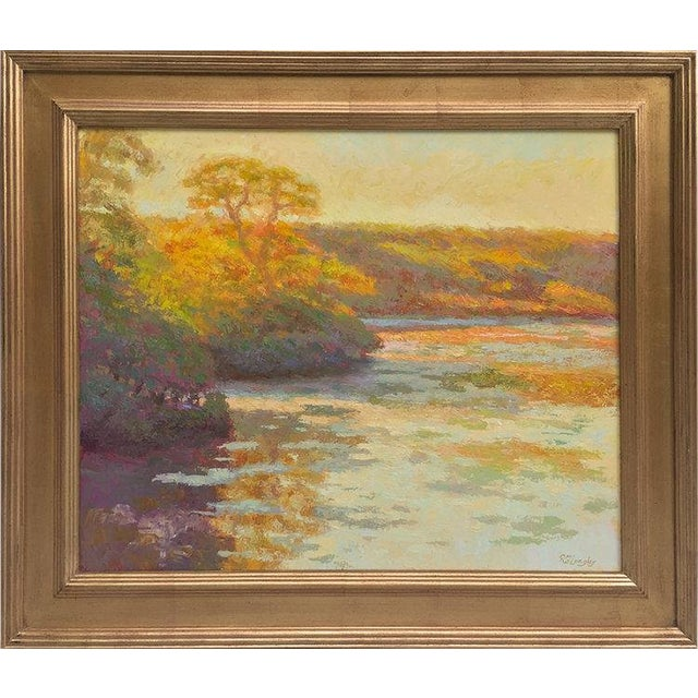 Rob Longley, Autumn Afternoon, Beech Forest Pond, 2013 For Sale