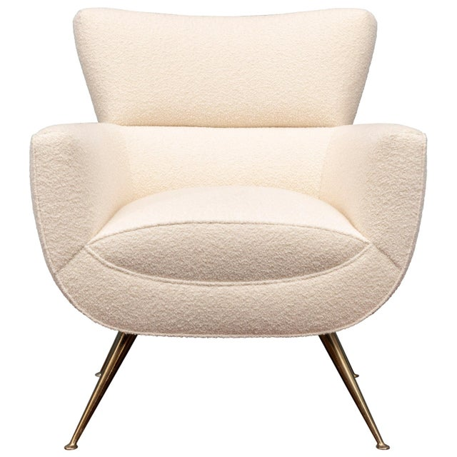 Mid-Century Modern Lounge Chair by Henry Glass For Sale - Image 9 of 9