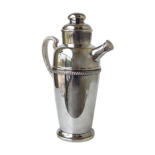 Vintage Silverplate Martini Cocktail Shaker