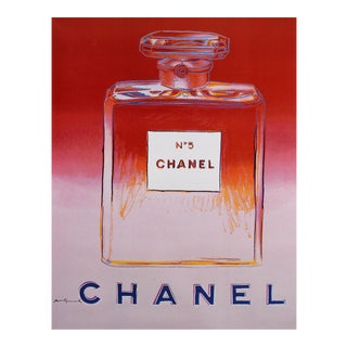Andy Warhol Chanel No. 5 Poster - Floating Mount