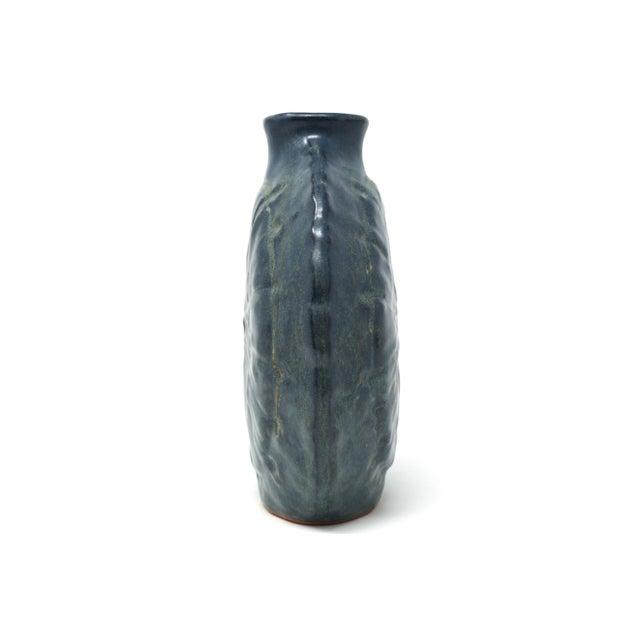 Vintage Disc Shaped Japanese Pottery Vase Chairish