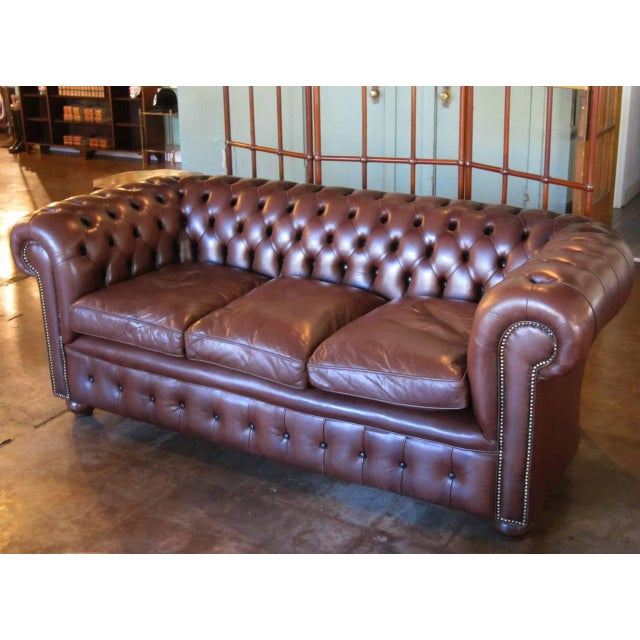 English Chesterfield Sofa For Sale In Austin - Image 6 of 11