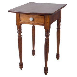 Early 19th Century Antique Sheraton Cherry Nightstand For Sale