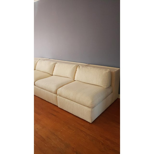 Milo Baughman for Thayer Coggin Sectional Sofa For Sale - Image 10 of 13