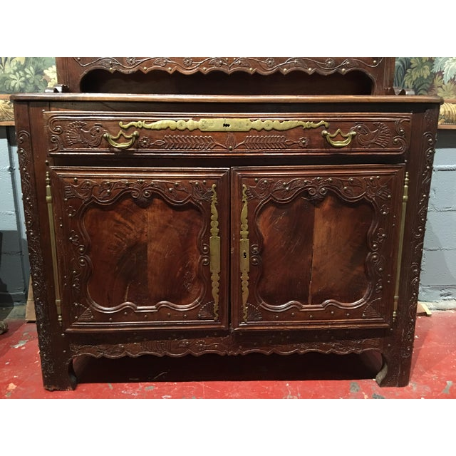 French Provincial 19th Century Breton Region Vaisselier For Sale - Image 3 of 13