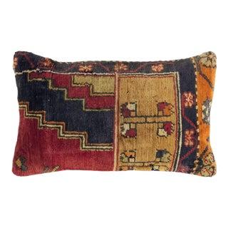 "Rich Reclaimed Rug Lumbar Pillow | 12"" X 20"" For Sale"