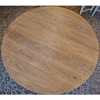 Swedish Style Contemporary Alder-Wood Round Dining Table Preview