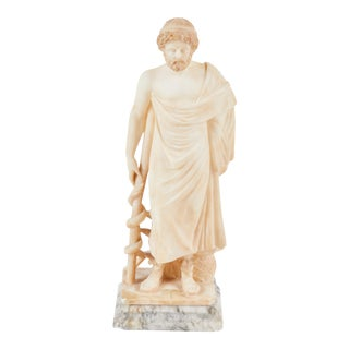 19th C. Italian Alabaster Figure For Sale
