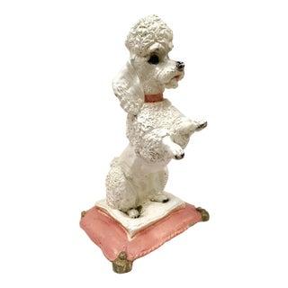 1950s Concrete Poodle Garden Statue