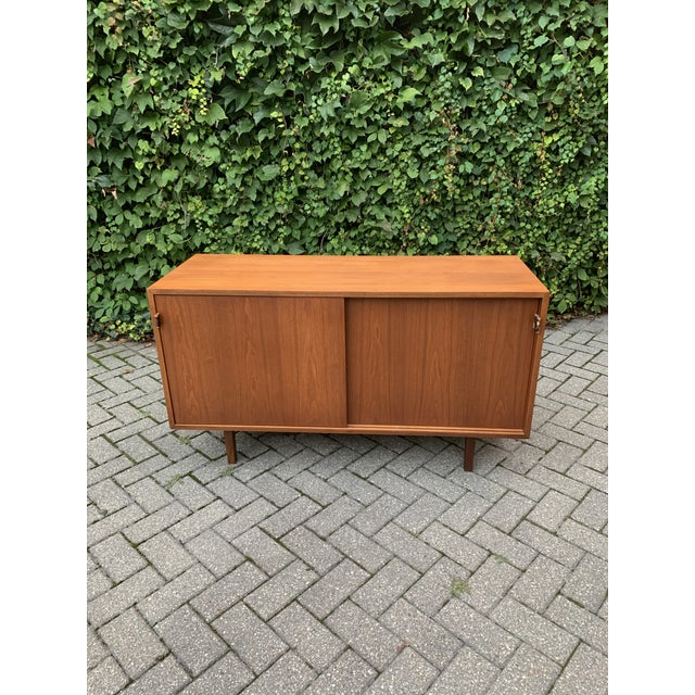 Mid 20th Century Vintage Mid-Century Modern Florence Knoll for Knoll Associates Credenza For Sale - Image 5 of 5