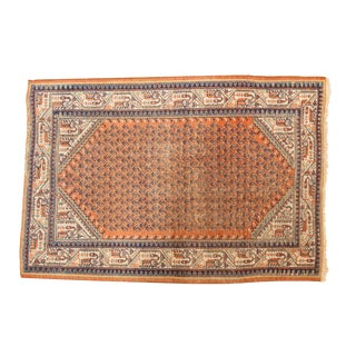 "Vintage Mir Serbend Rug - 3'5"" X 5' For Sale"