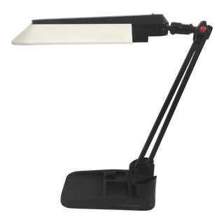 1980's Industrial/Memphis Style Articulated Task Desk Lamp For Sale