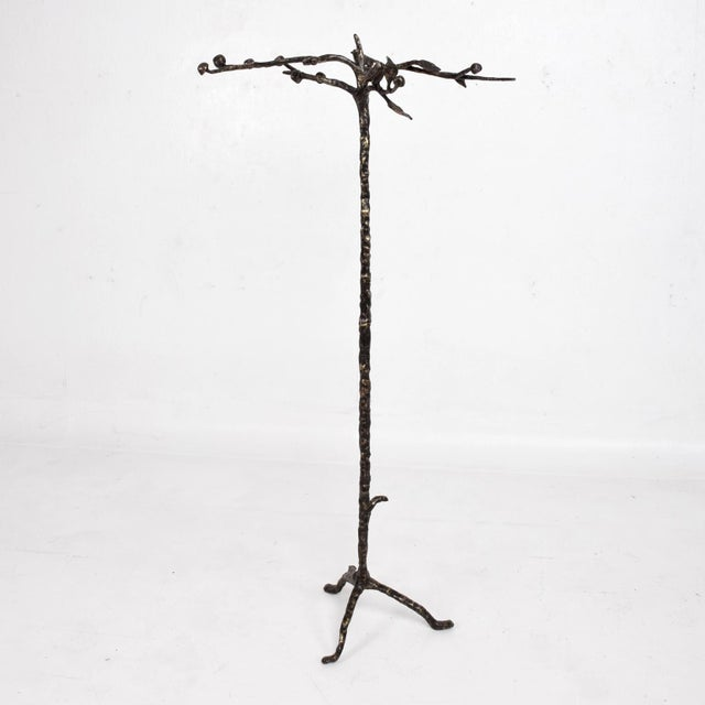 Bronze coatrack after Giacommetti. Unsigned.