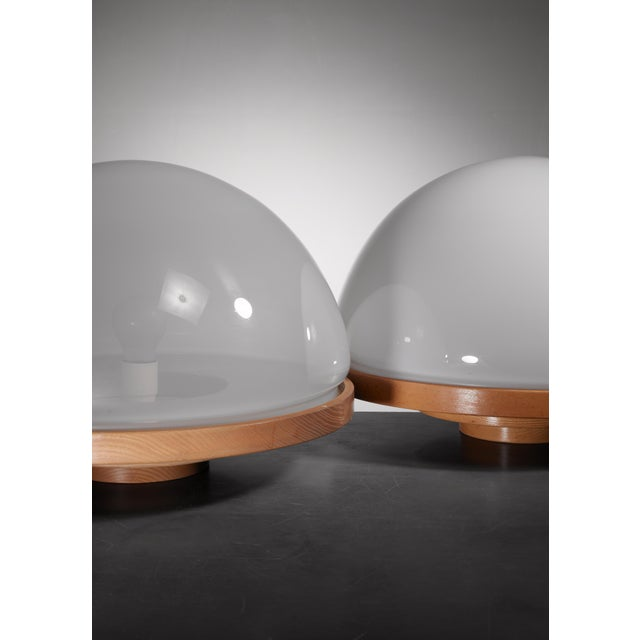 Pair of Selenova table lamps, Italy, 1960s - Image 3 of 5