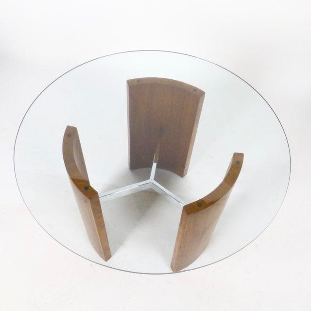 "Vladimir Kagan Vladimir Kagan ""Radius"" Tables - a Pair For Sale - Image 4 of 5"