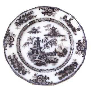 Antique Flow Black Plate For Sale