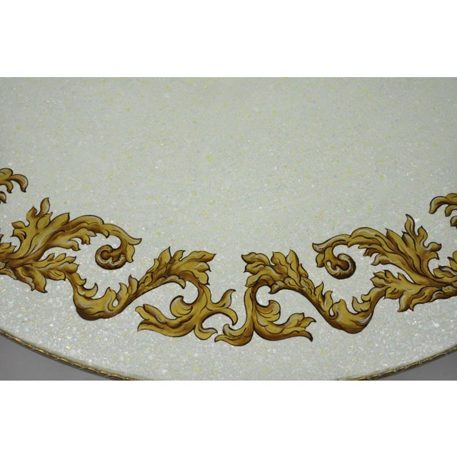 Vintage Mid-Century French Rococo Style Coffee Table For Sale In Philadelphia - Image 6 of 12